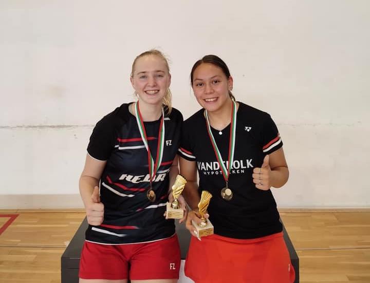 Goud voor Kirsten en Jaymie in Bulgarije