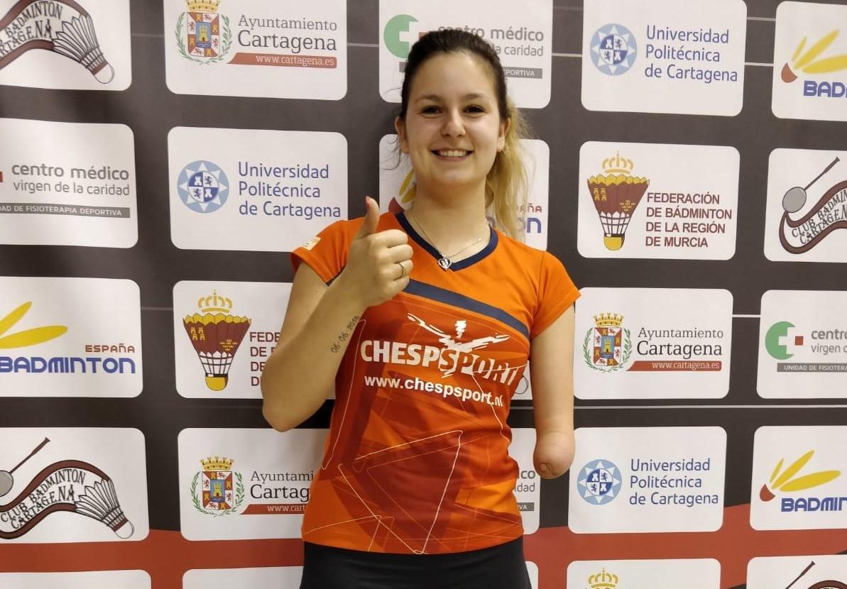 Megan Hollander officieus gekwalificeerd voor Paralympische Spelen