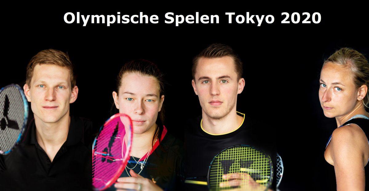 Nederlandse badmintonploeg vrijdag naar Tokyo