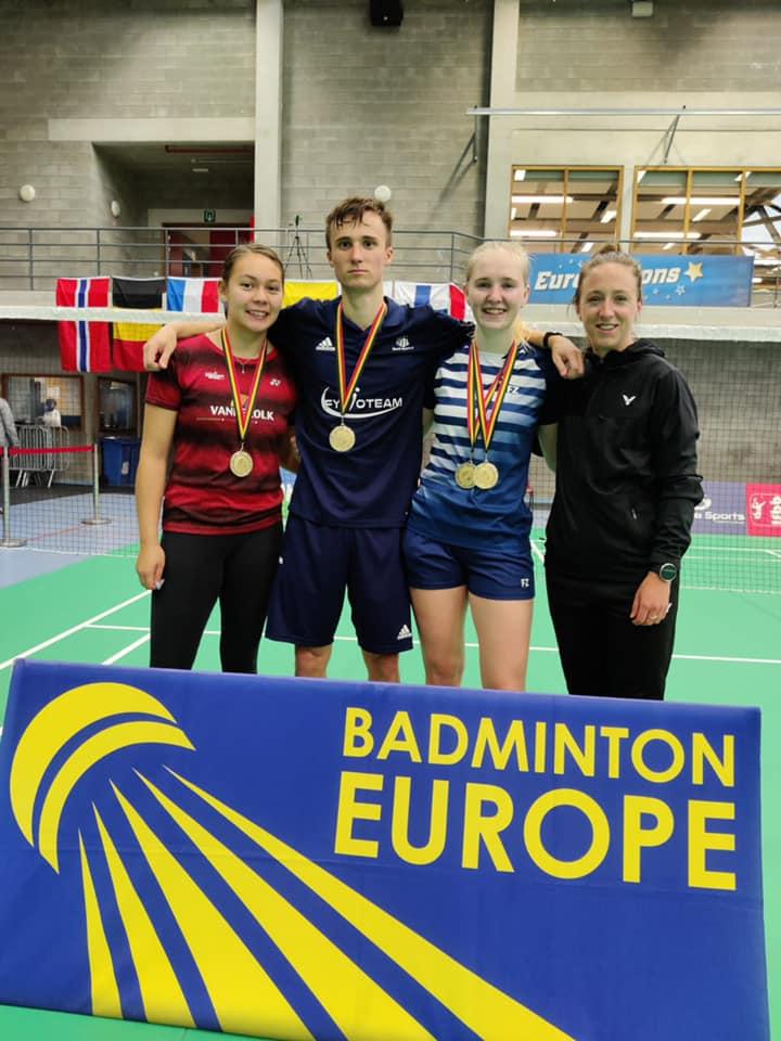 Twee Nederlandse titels op Belgian Junior